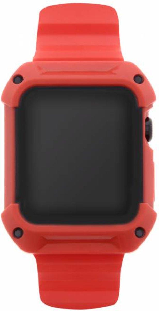 Rode Armour band voor de Apple Watch 42 mm kopen