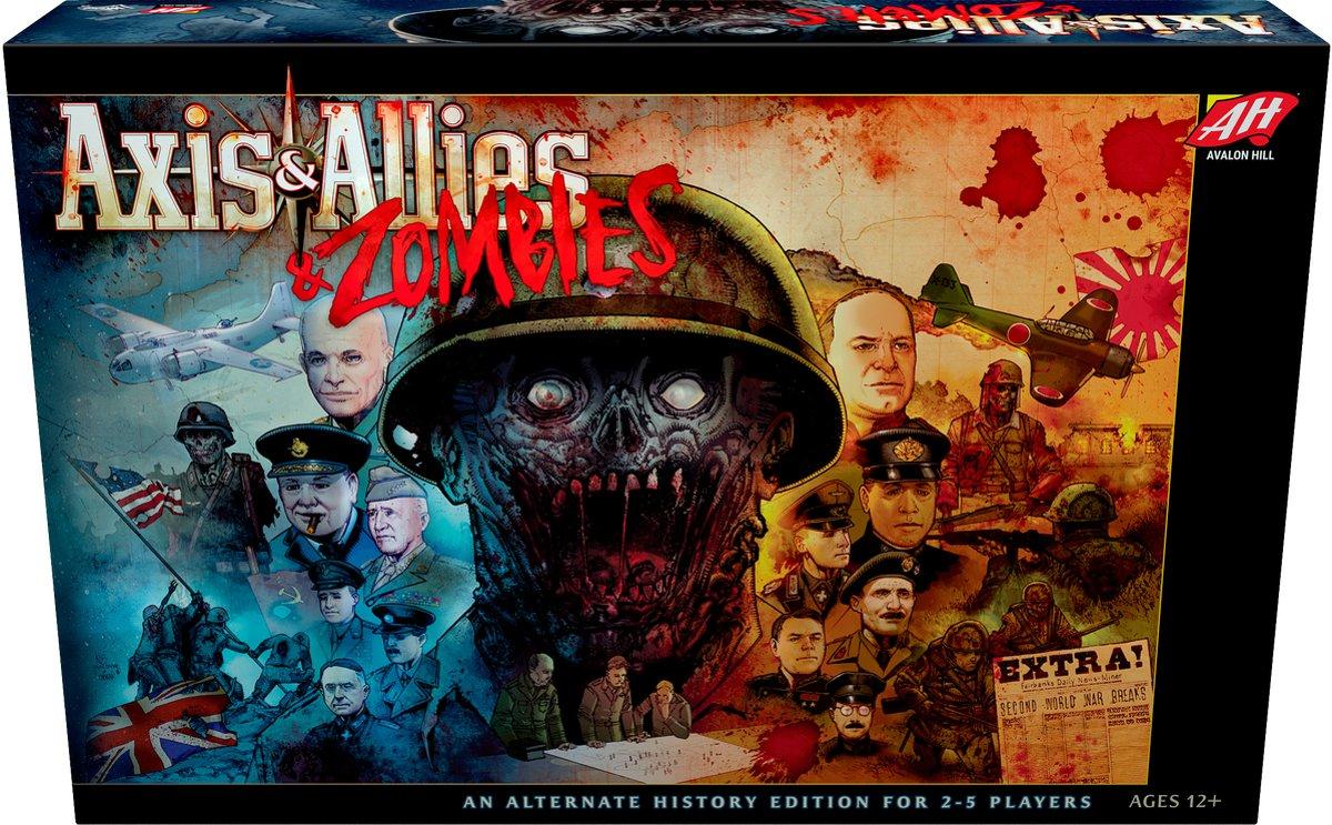 Axis & Allies & Zombies - Engelstalig Bordspel