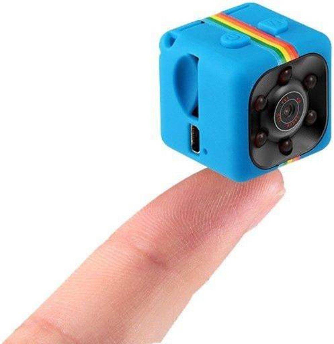 Full HD Mini camera - 1080P - Blauw kopen