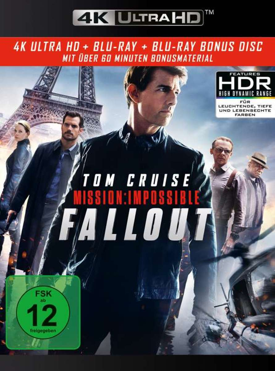 Mission: Impossible 6 - Fallout (Ultra HD Blu-ray & Blu-ray)-