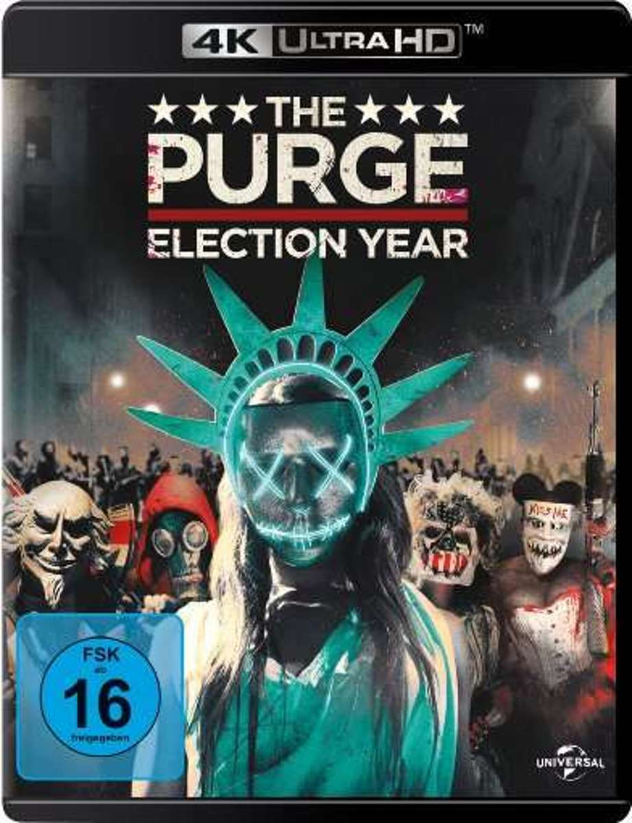 The Purge: Election Year (Ultra HD Blu-ray & Blu-ray)-