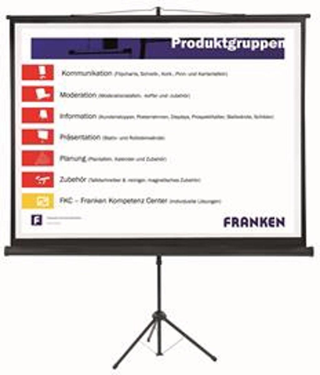 Projectiescherm op statief 200x150 cm, 4:3 kopen