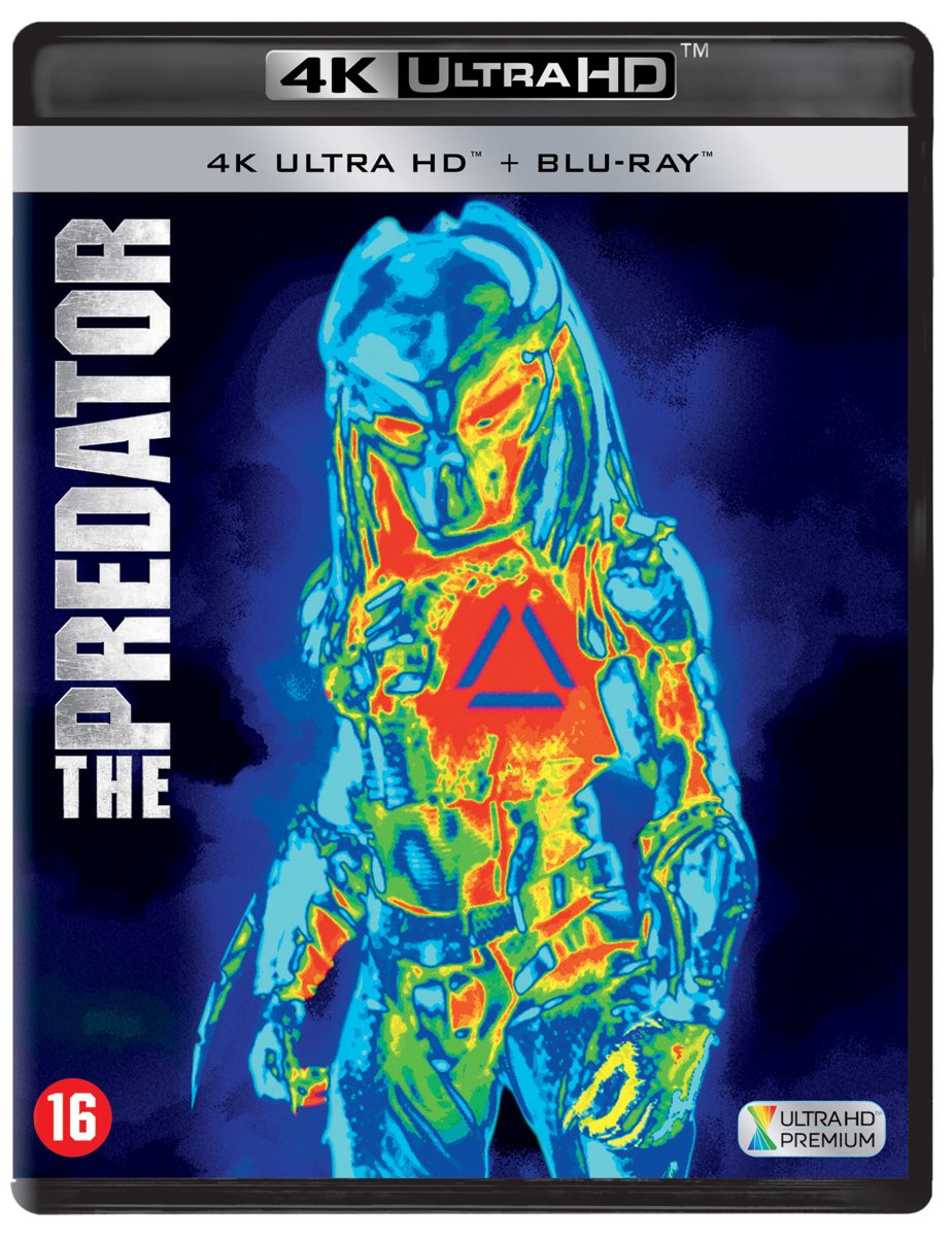 The Predator (4K Ultra HD Blu-ray)-
