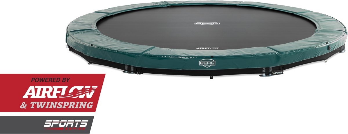BERG InGround Elite Green 380