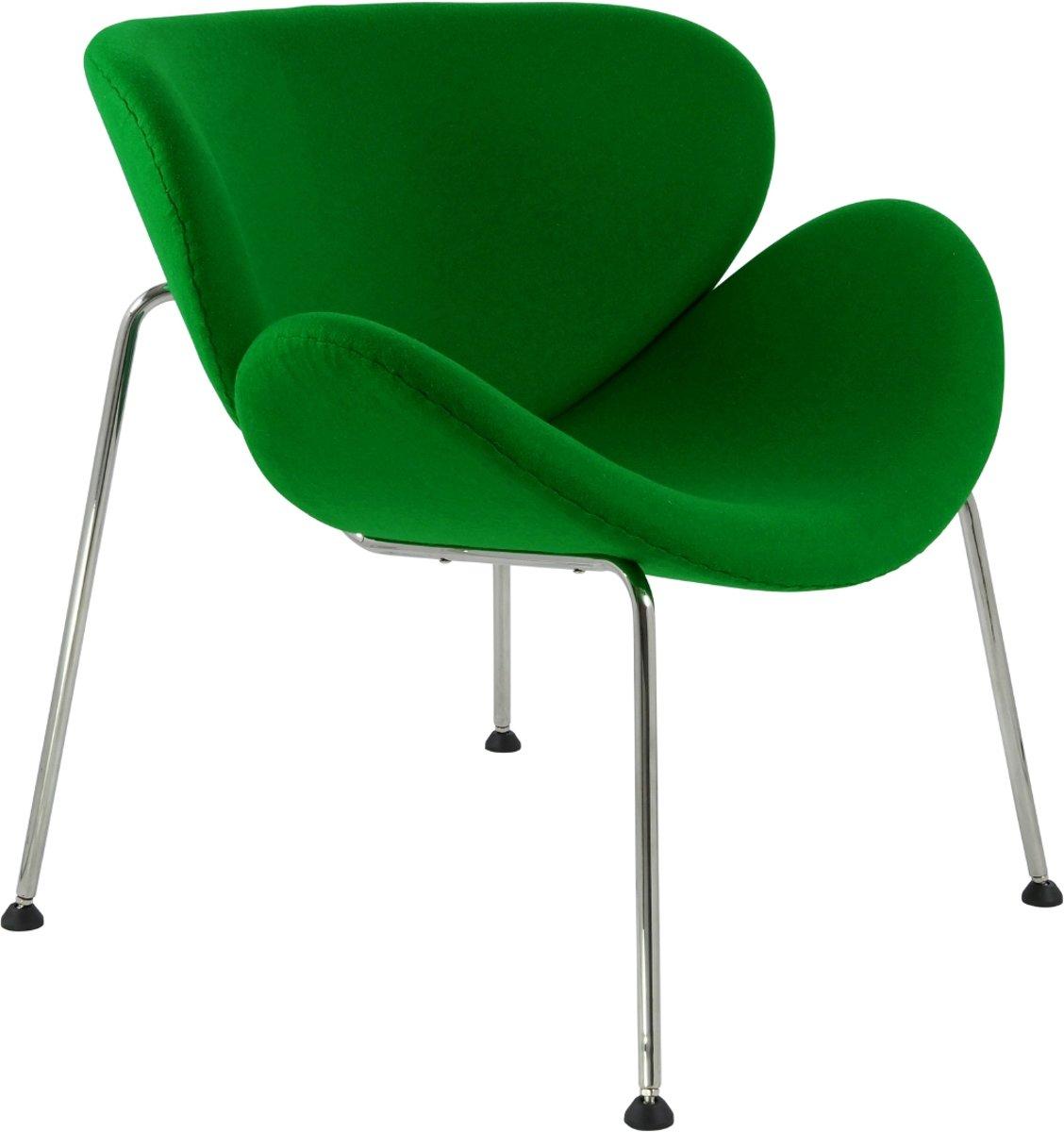 lounge stoel Orange slice originele grootte groen kopen