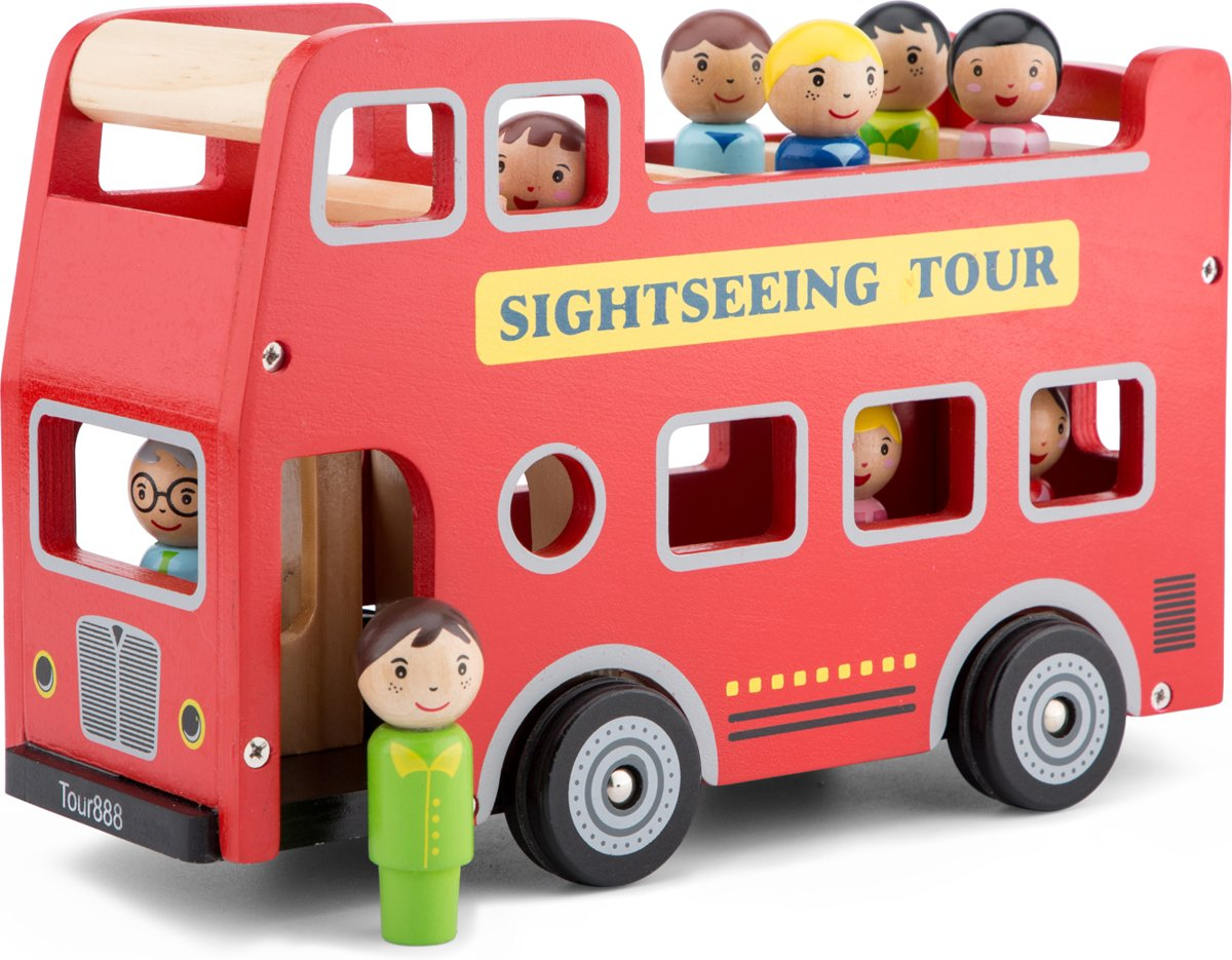New Classic Toys - City Tour Bus - 10 delig