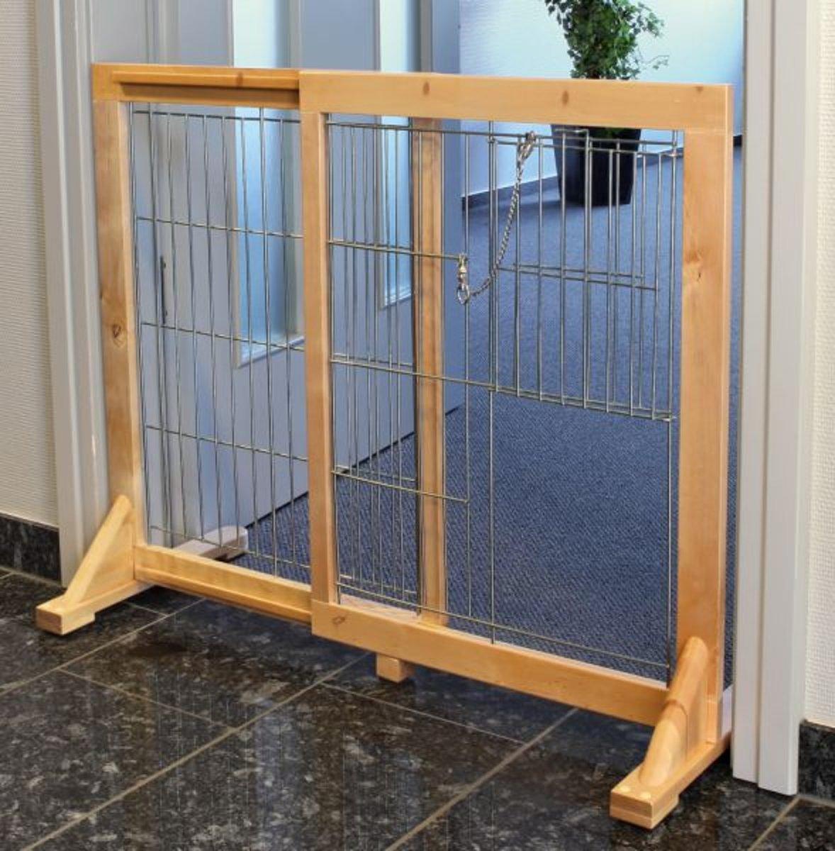 Trixie Hondenhek - Geschikt Grote Honden - Hout - 61-103  x 75 cm kopen