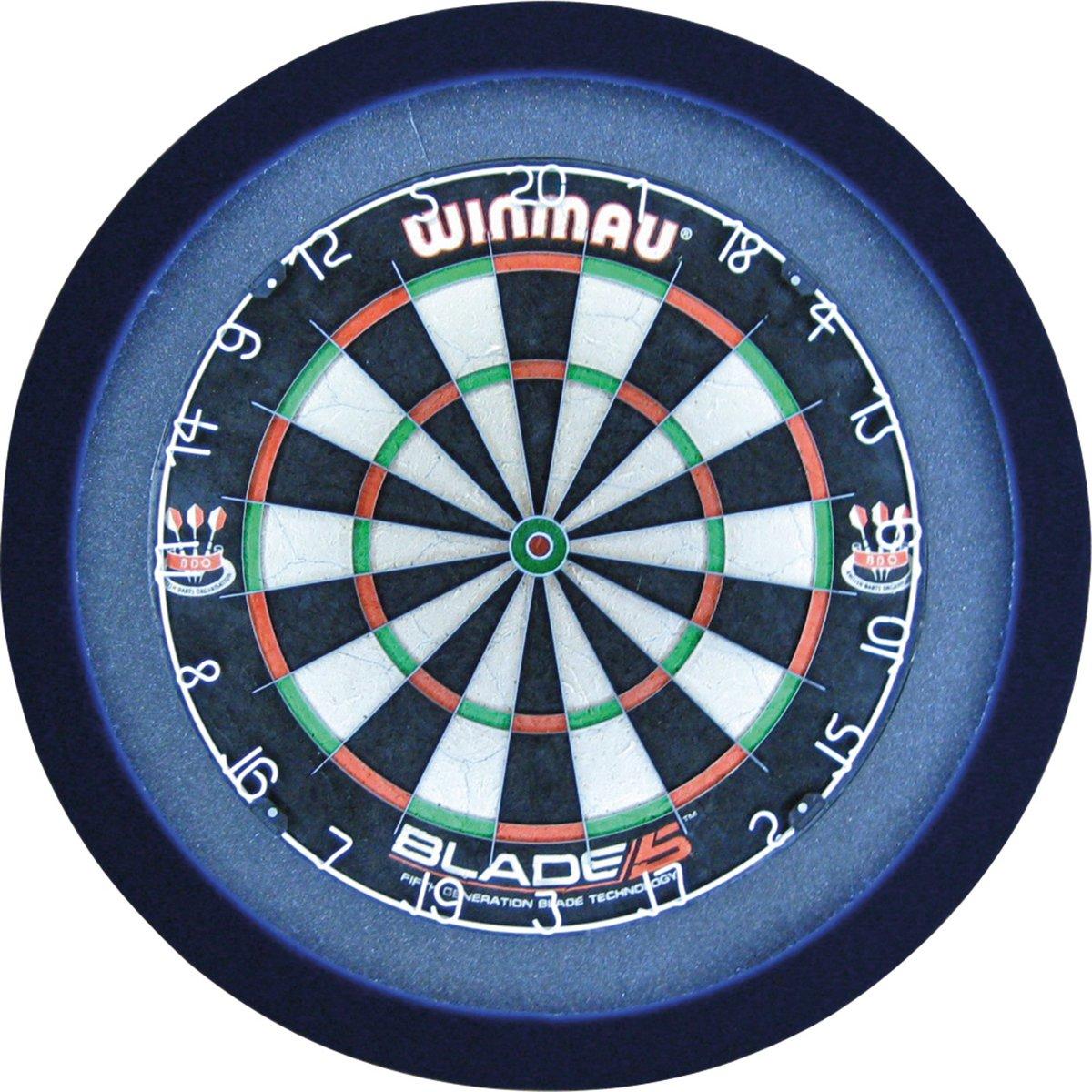 GrandSlam dartbord led-lighting blauw
