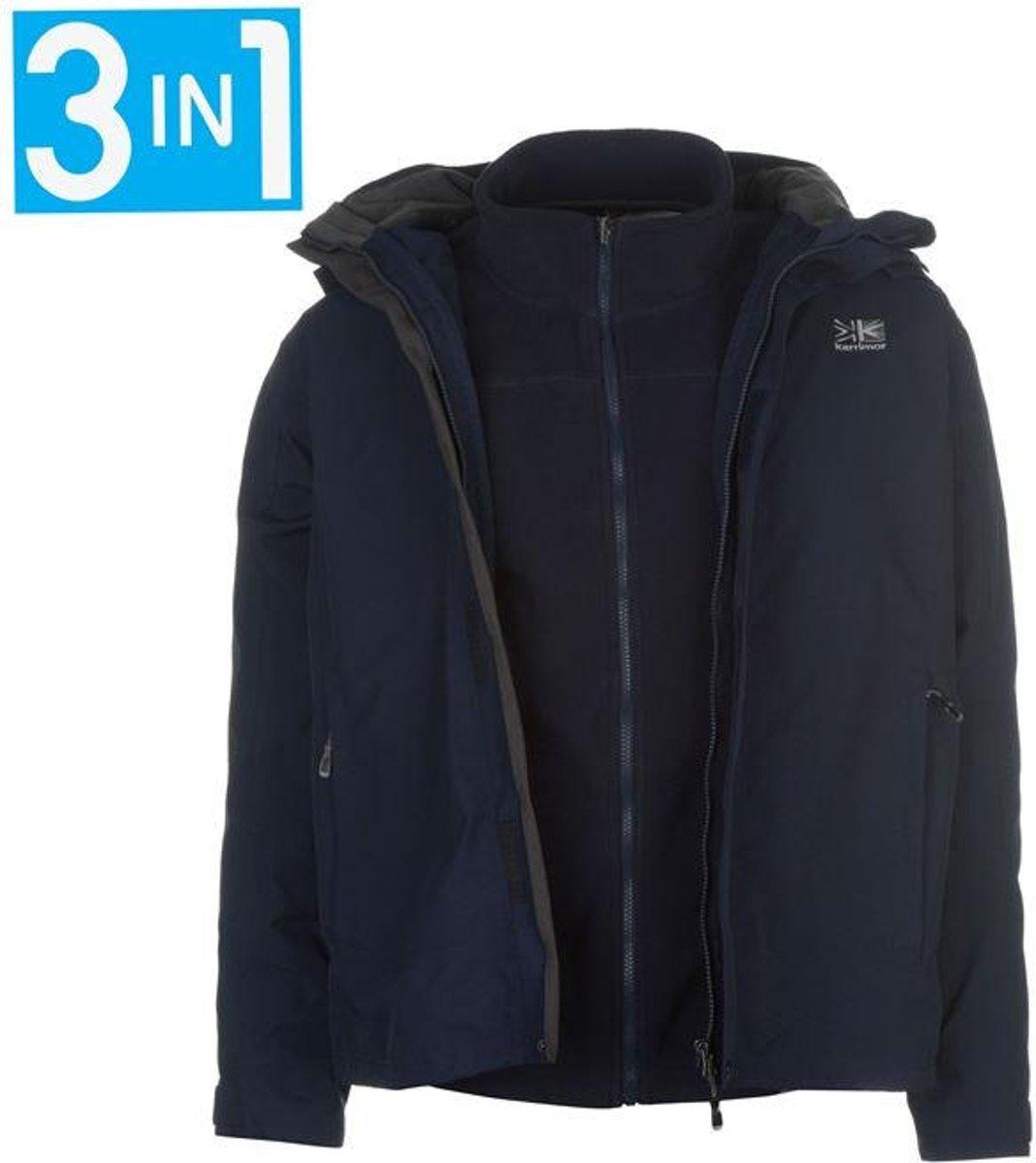 Winterjas Heren M.Top Honderd Karrimor 3 In 1 Winterjas Heren Donkerblauw M