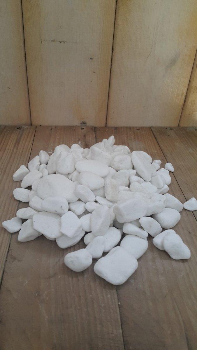Spierwitte steentjes 1 schep