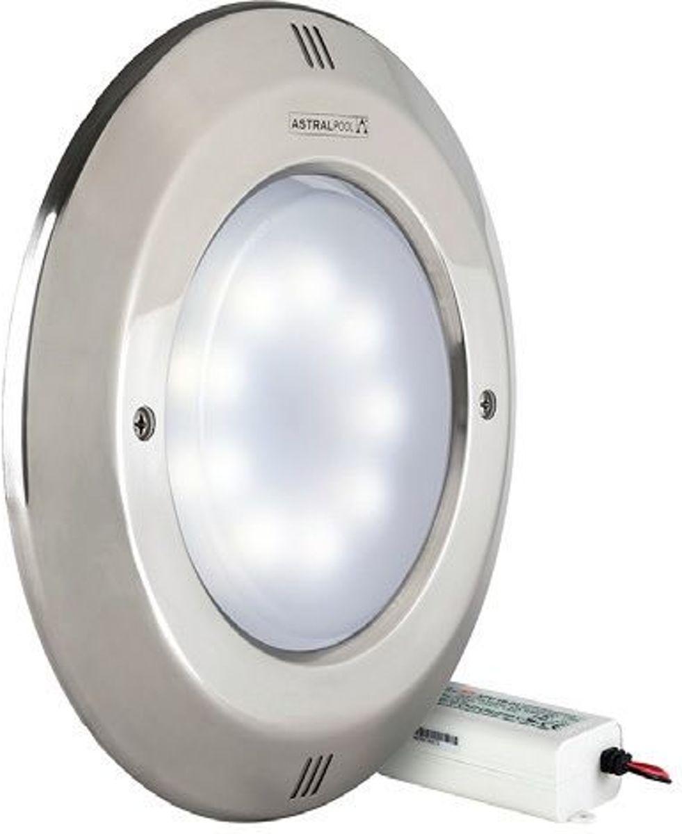 Lumiplus zwembadlamp met rvs front LED 24v 14Watt