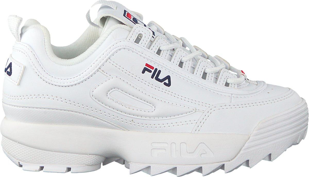 sportschoenen eerste klas het winkelen bol.com | Fila Jongens Sneakers Disruptor Kds - Wit - Maat 28