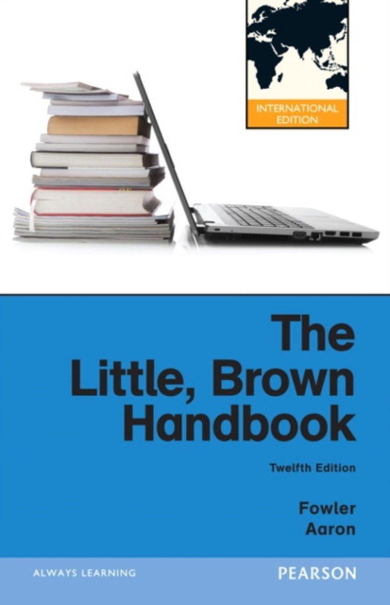 bol.com | The Little, Brown Handbook | 9780205197651 | H. Ramsey Fowler |  Boeken