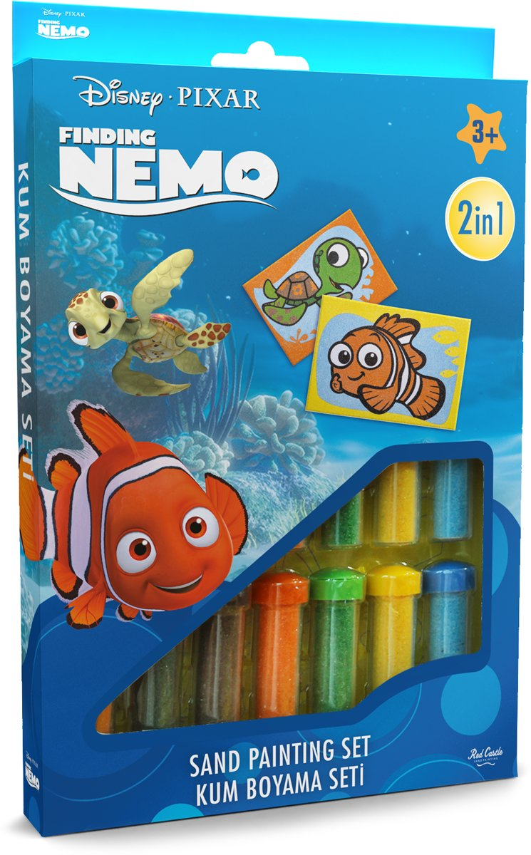 Disney · PIXAR Finding Nemo - Nemo & Squirt ? 2in1 Sand Painting Art Set kopen