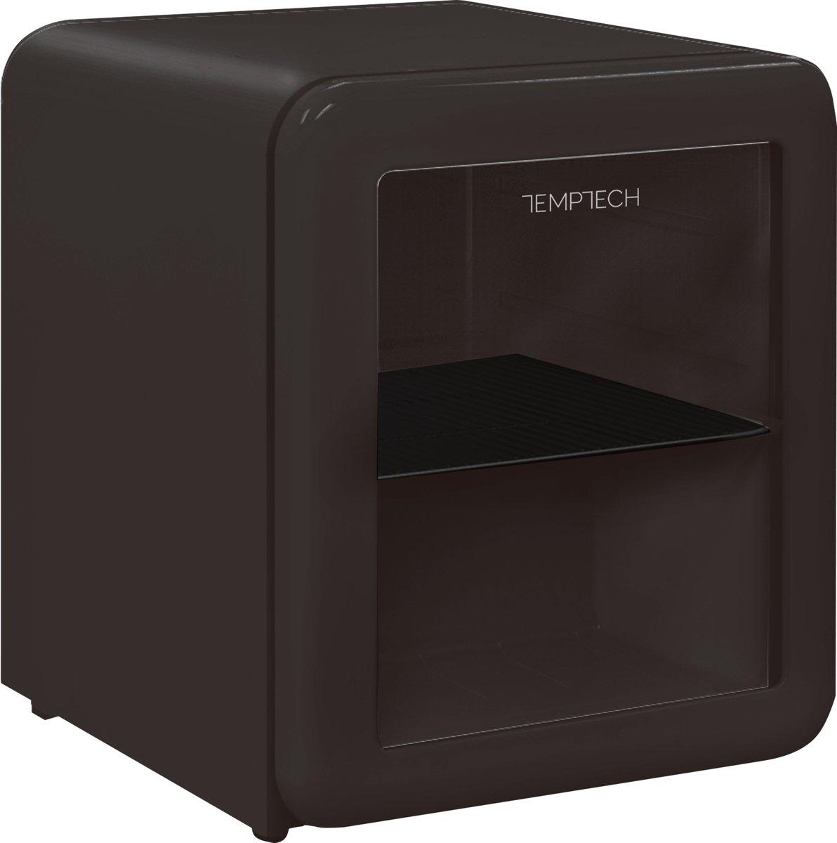 Temptech HRF46RBGLASS- mini koelkast - 26 liter - zwart kopen