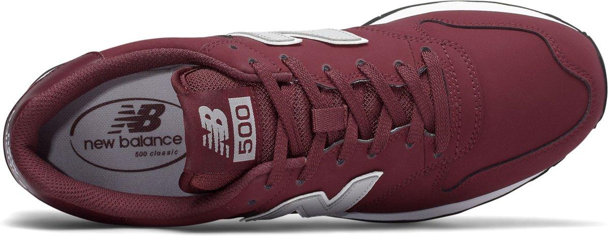 062ec5e2c1a bol.com   New Balance GM500 Sneaker Heren Sneakers - Maat 42 - Mannen -  rood/grijs/wit