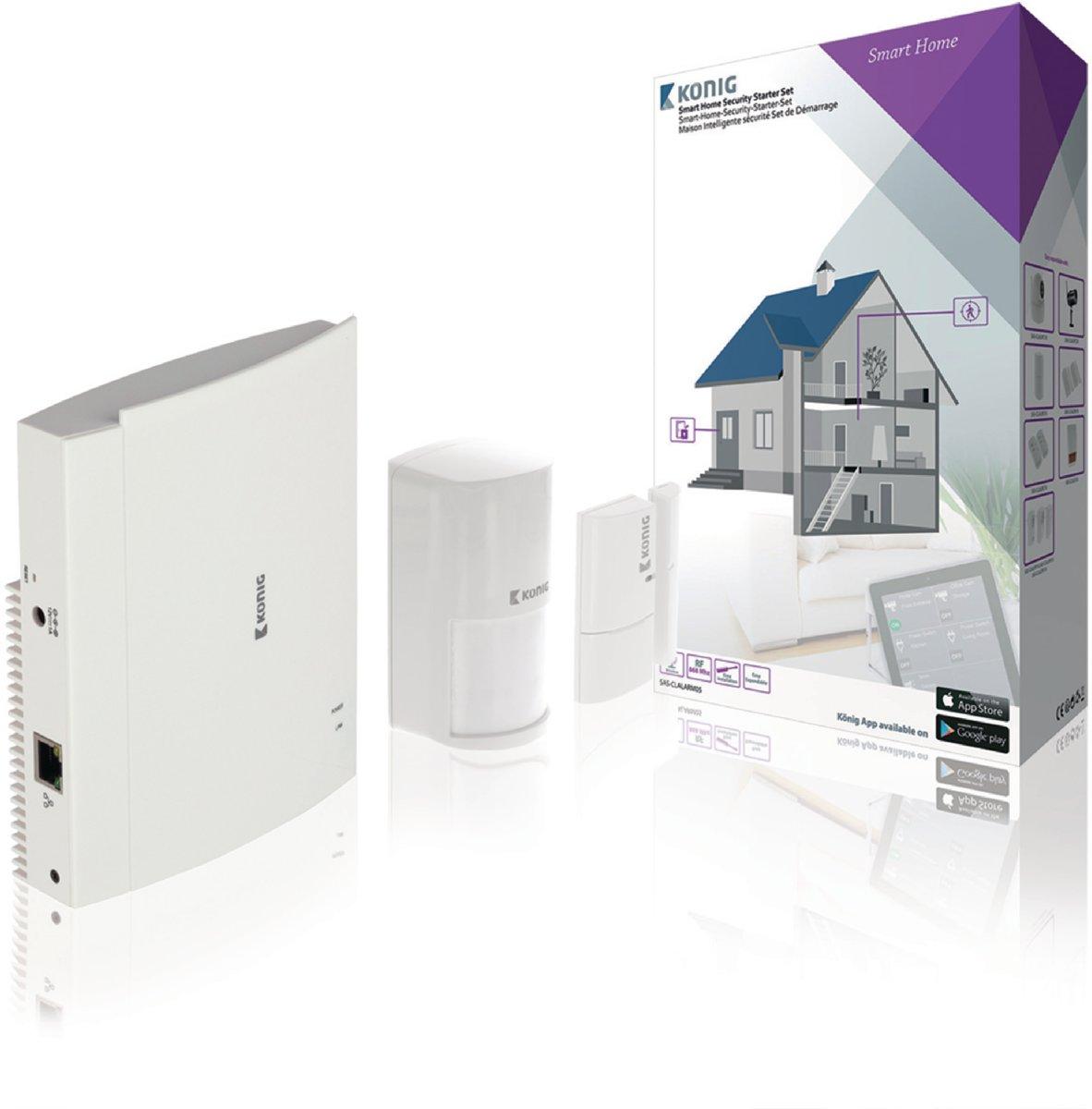 Smart home starter beveiligingsset voor €49,95