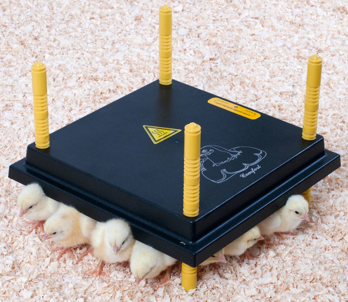 Comfort warmteplaat 30x30cm