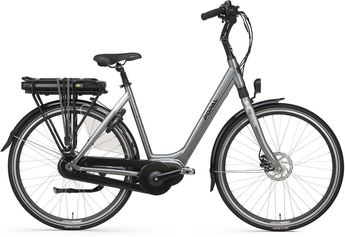 Popal E-Volution 12.1 - Elektrische fiets - E-bike - Bafang voorwielmotor - Iron Grey | 53cm