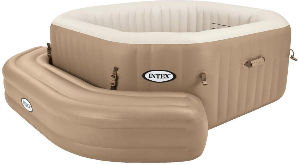 Intex Pure spa opblaasbare - Jacuzzi bank - 211x66x34cm