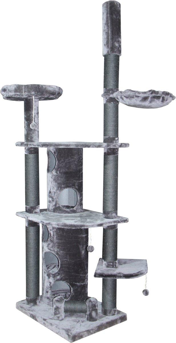Topmast Krabpaal Heavy Catwick Grijs. 78* 58 * 240-260 cm Verstelbaar