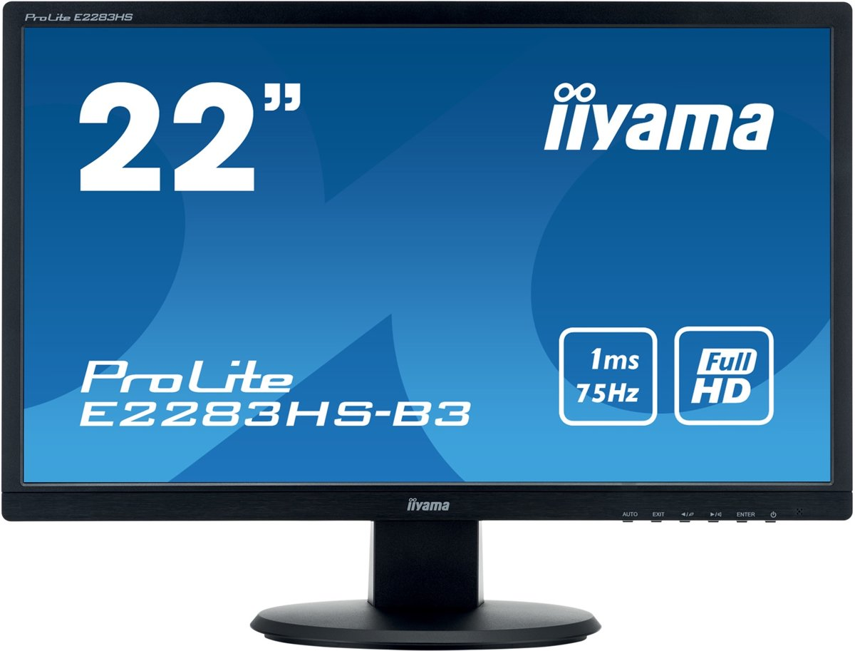 Iiyama ProLite E2283HS-B3 - Full HD Monitor