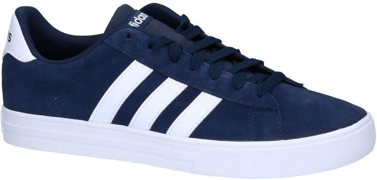 adidas Daily 2.0 Sneaker laag gekleed Heren Maat 46 Blauw;Blauwe Collegiate Navy