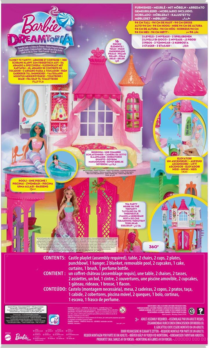 bol.com   Barbie Sweetville Kingdom Castle, Mattel   Speelgoed
