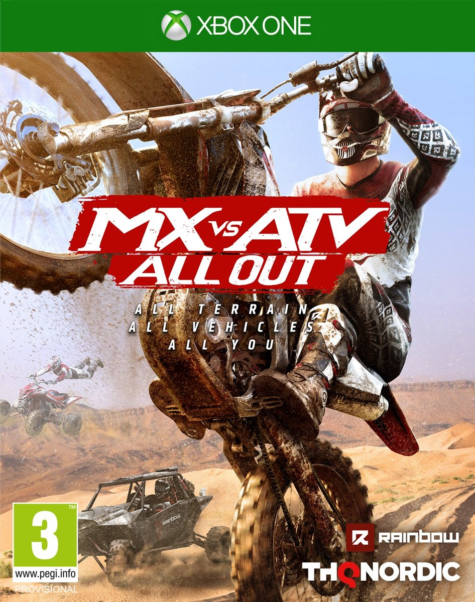 MX vs ATV, All Out Xbox One