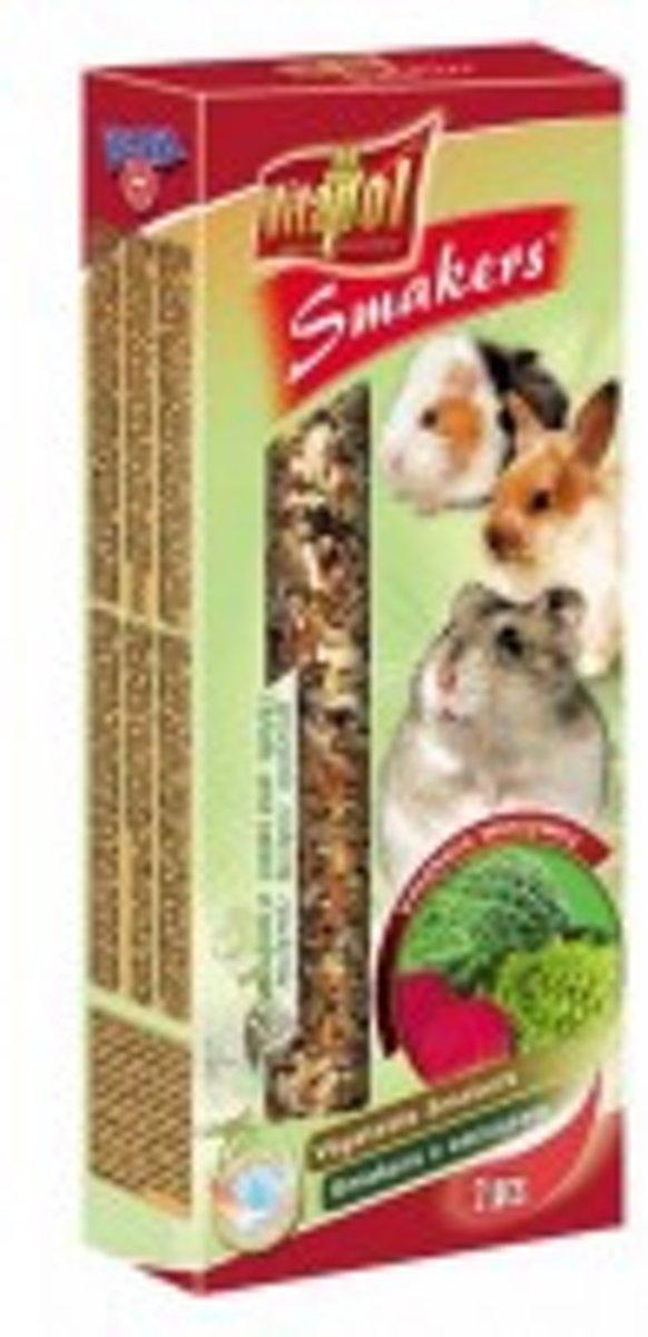 Vitapol knaagdierkracker groente 10 x 2 stuks