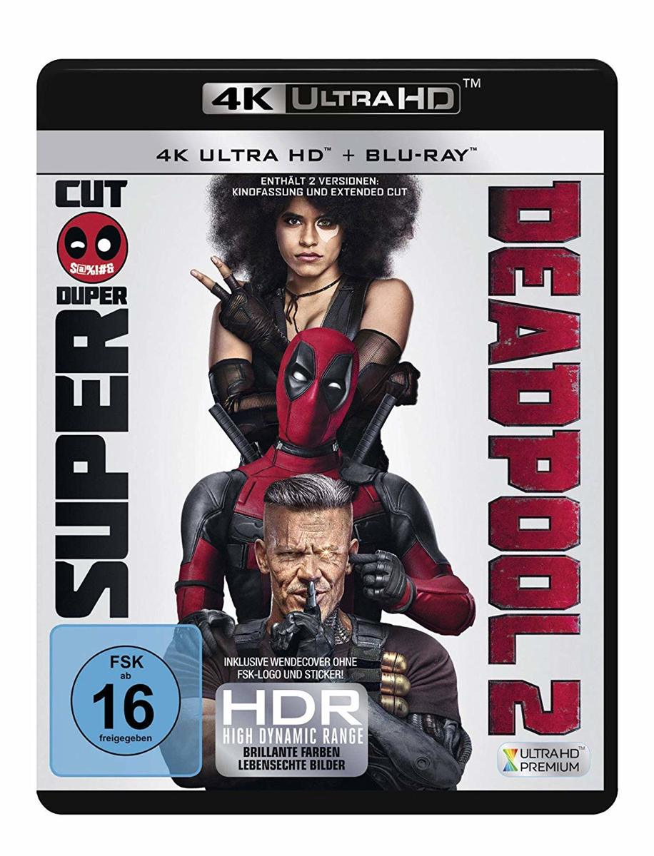 Deadpool 2 (Ultra HD Blu-ray & Blu-ray)-