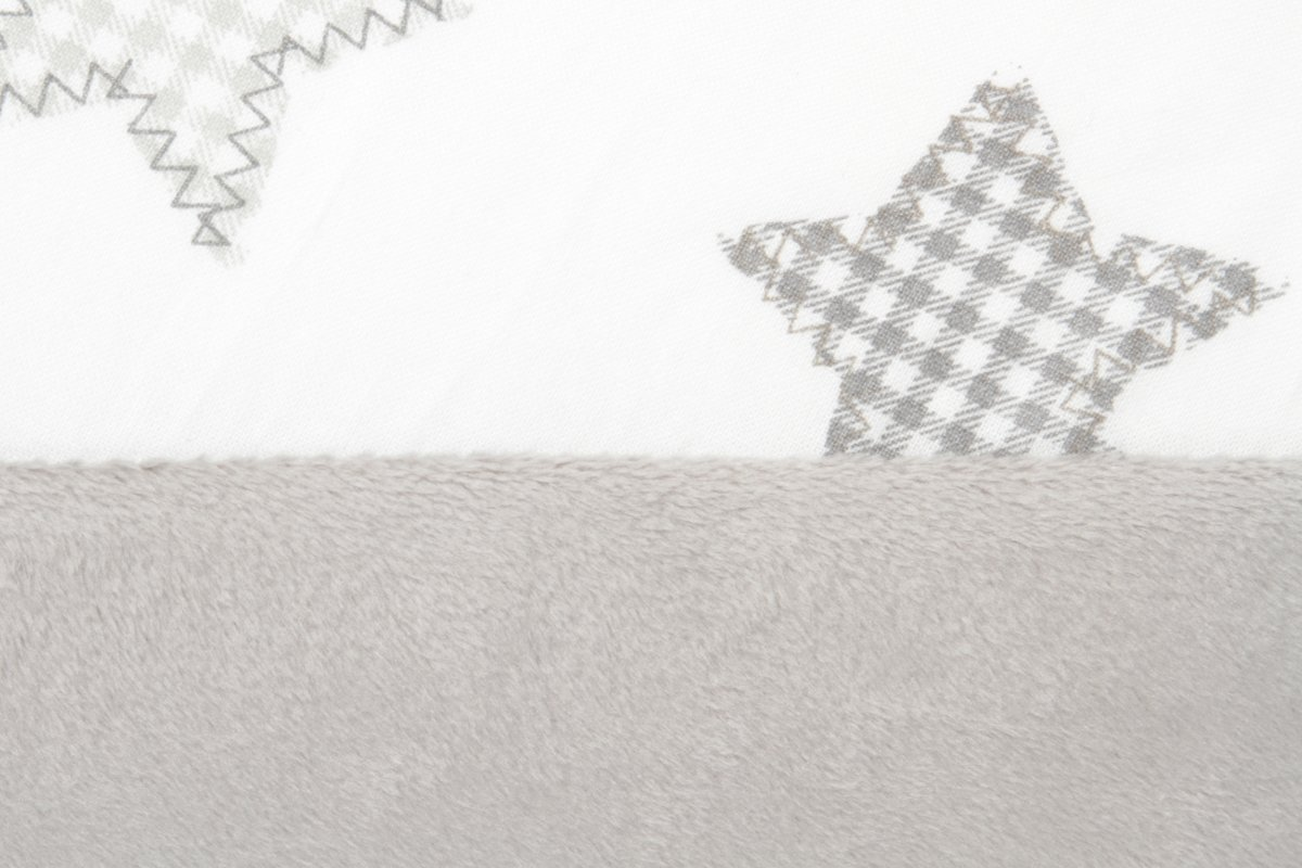 59c487be55d bol.com   Snoozzz Voedingskussen - met afneembare hoes ster grijs – 185 cm
