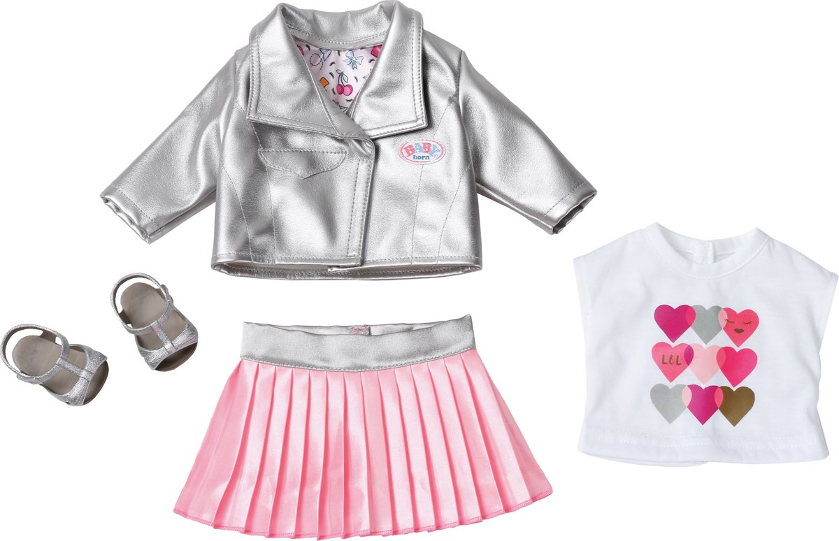 BABY born® City Deluxe Trendsetter - Poppenkleding