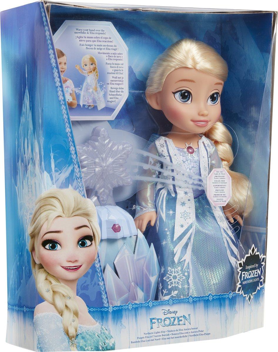 Bolcom Frozen Elsa In Noorderlicht Jakks Speelgoed