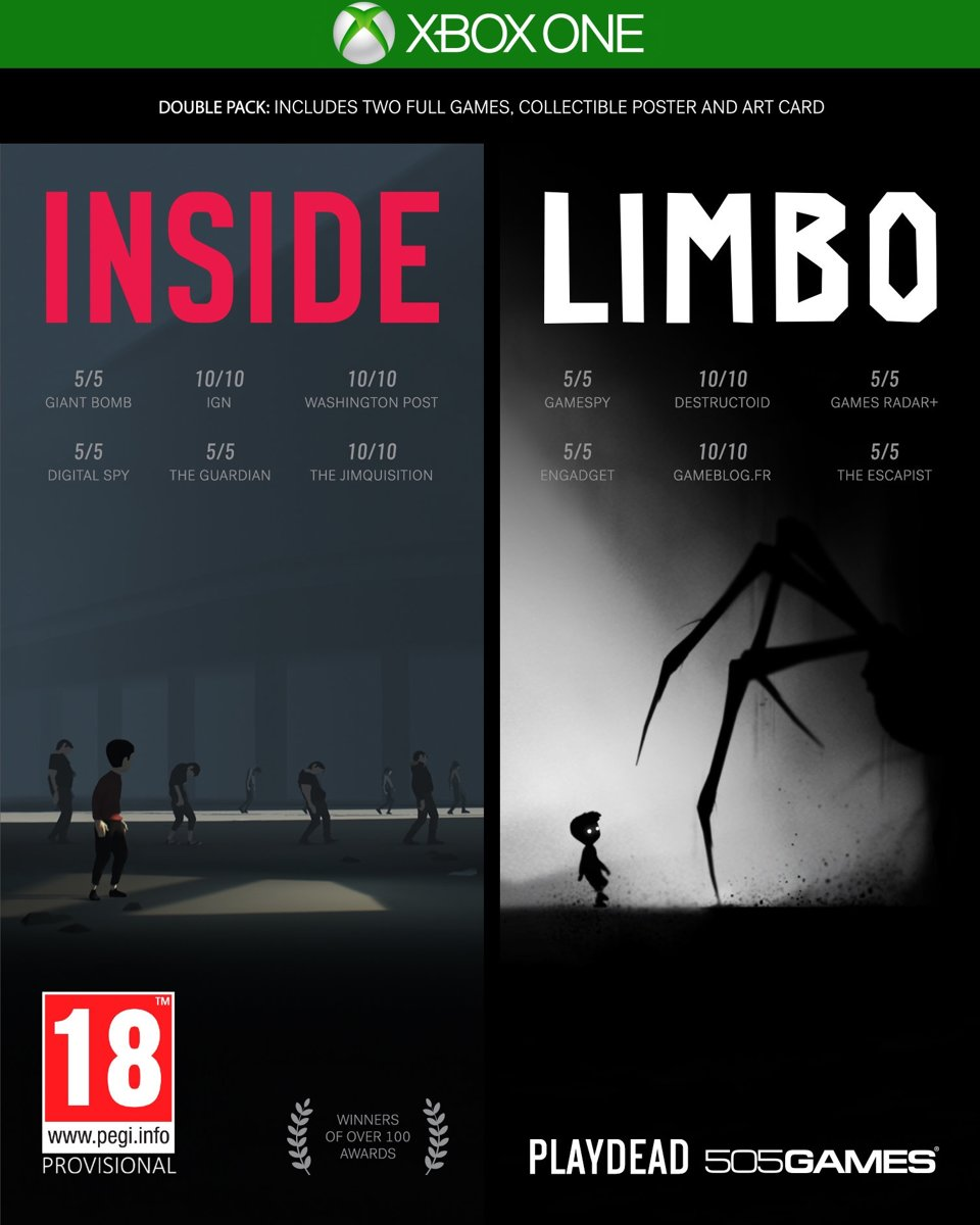 Inside - Limbo (Double Pack) Xbox One