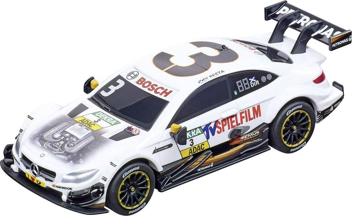 Carrera Go racebaanauto Mercedes AMG C 63 DTM wit