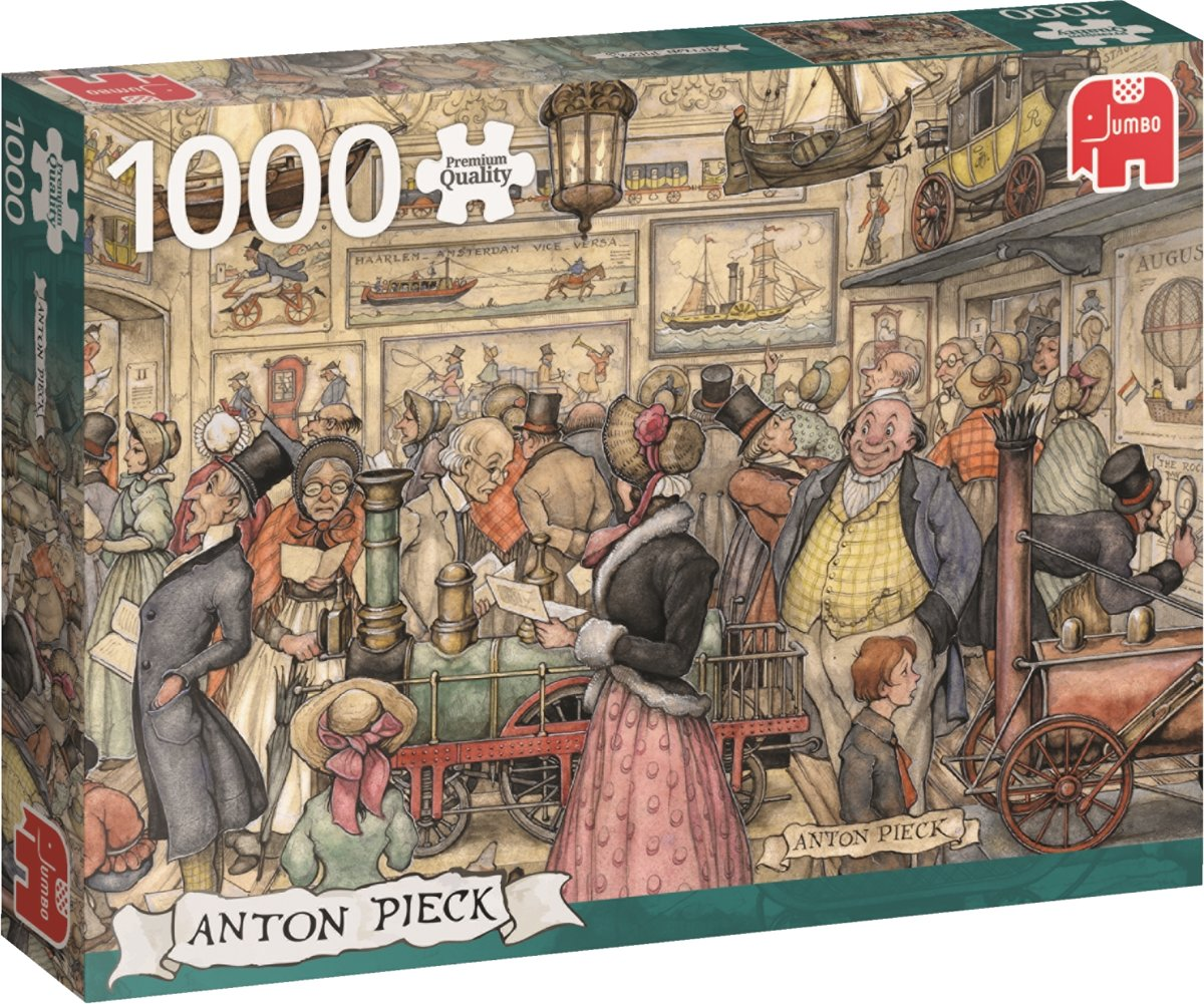 Anton Pieck De Tentoonstelling - Puzzel 1000 stukjes