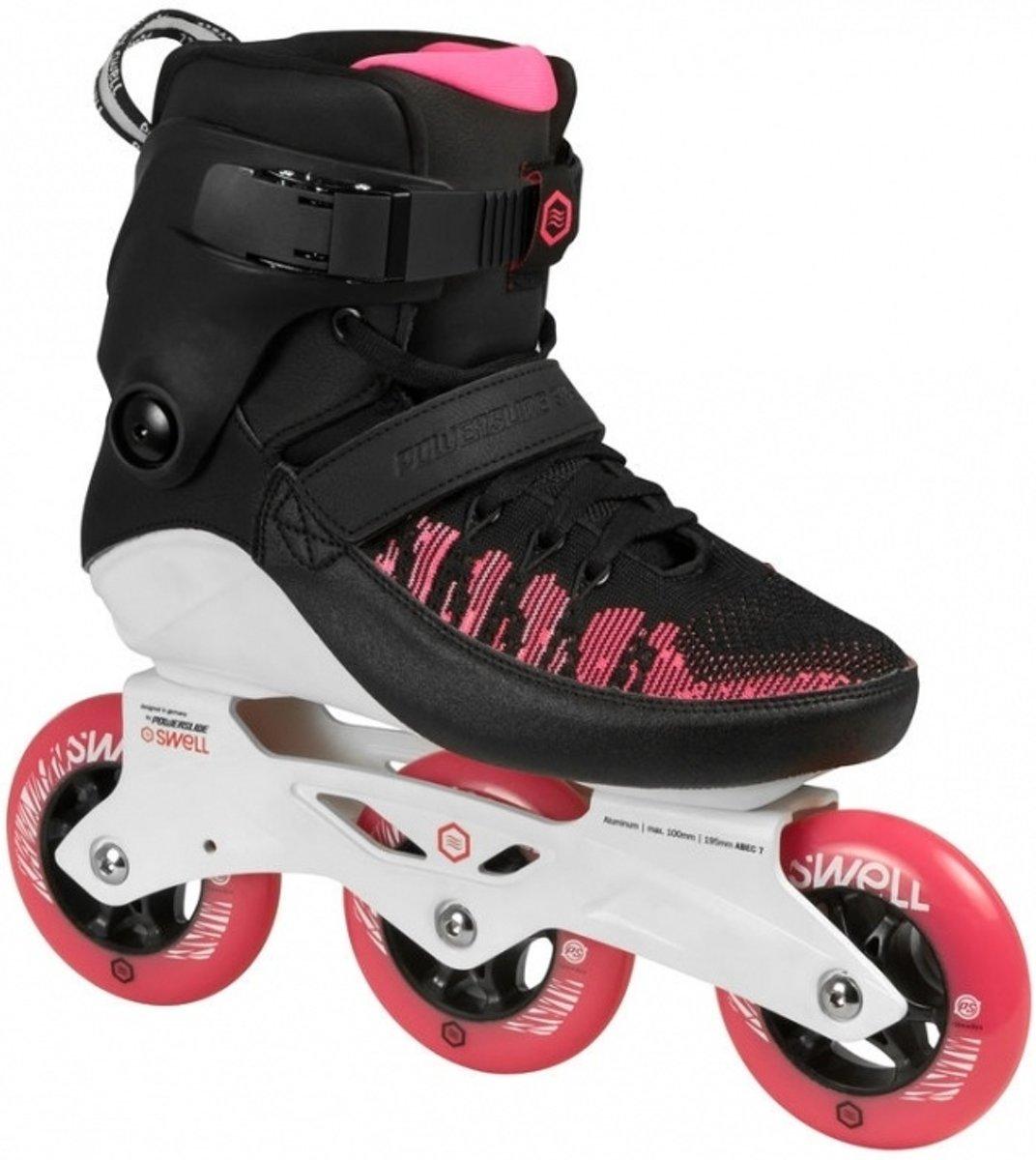 31e74f8004f bol.com | Powerslide Inline Skates Swell Dames Zwart/roze Maat 37