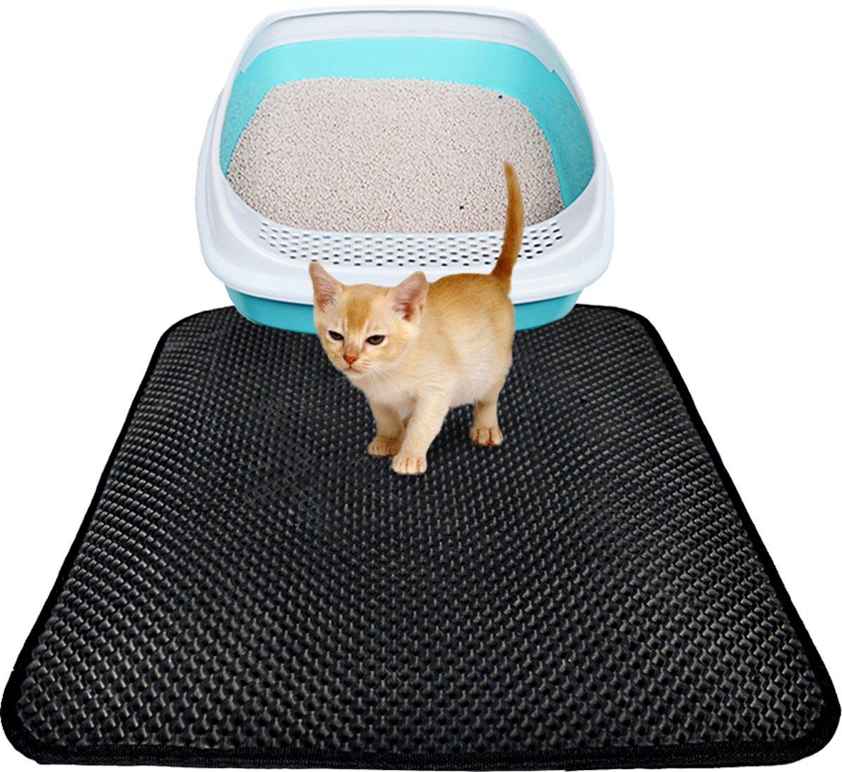 Kattenbak Mat - cat litter mat - Vangt Grind Op kopen