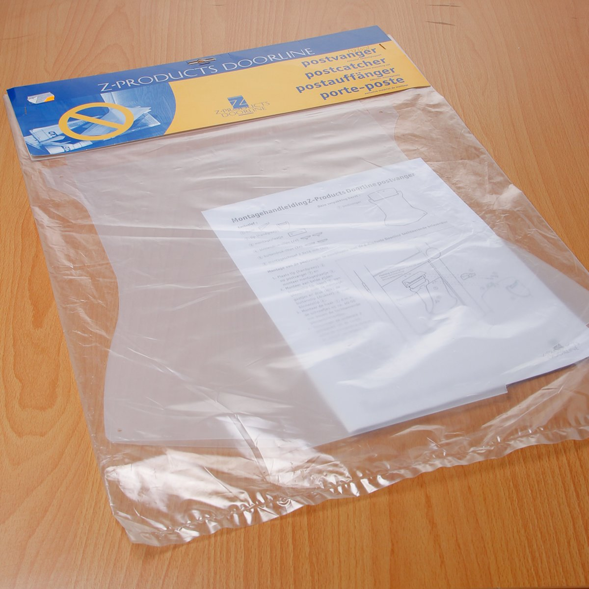 Gezu Postkeeper transparant/wit