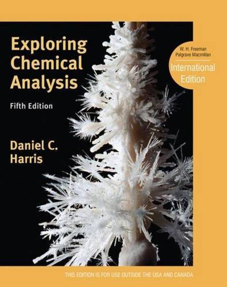 bol.com   Exploring Chemical Analysis   9781429295765   Daniel C. Harris    Boeken
