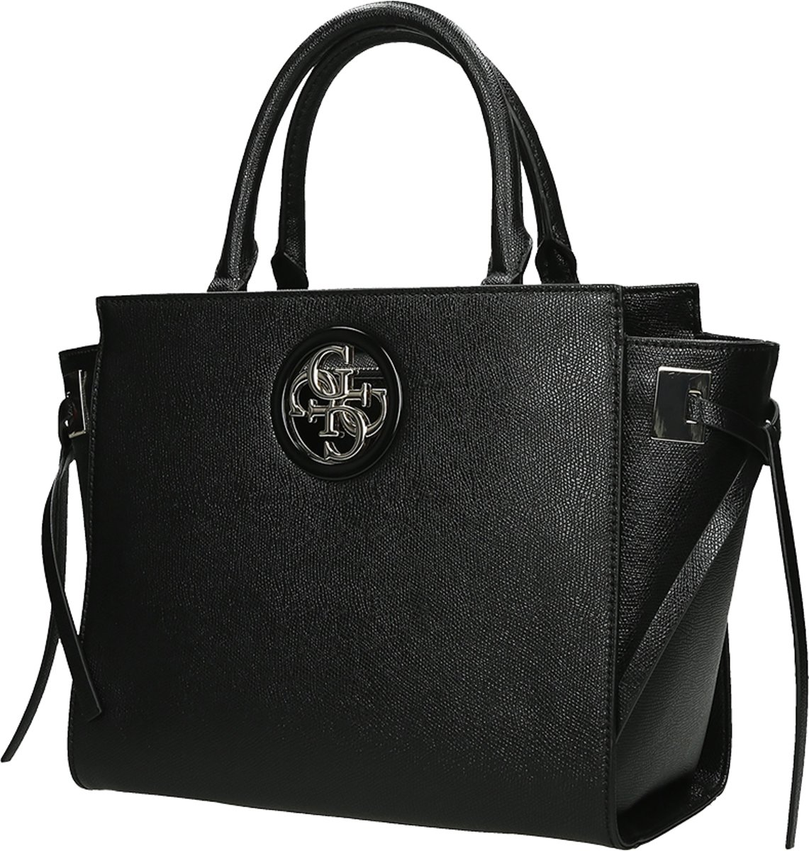 Guess Open Road Society Dames Handtas Black