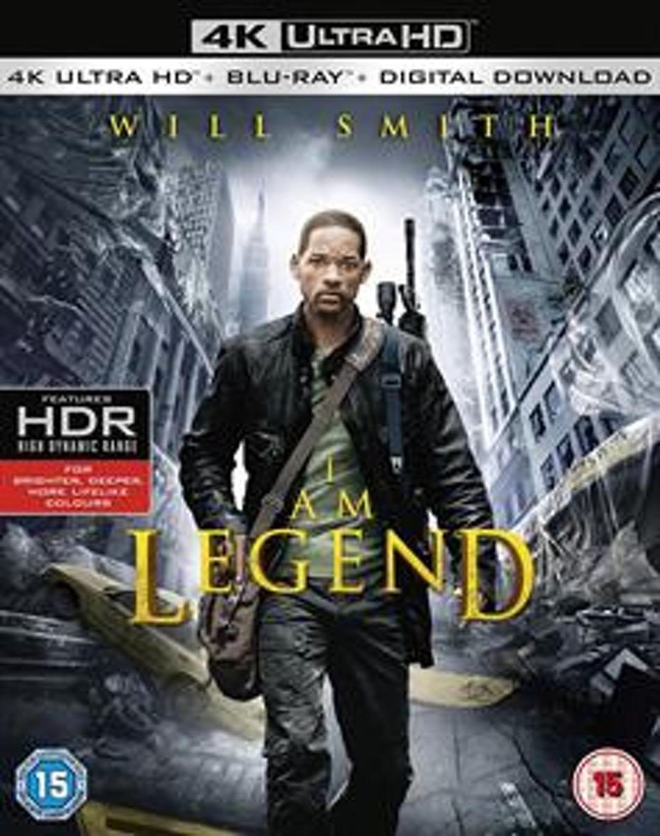 I Am Legend (4K Ultra HD Blu-ray) (Import)-