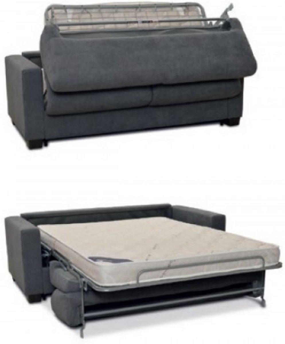 Matras Voor Slaapbank.Bol Com Aanbieding Luxe Slaapbank Promo Kleur Dark Grey