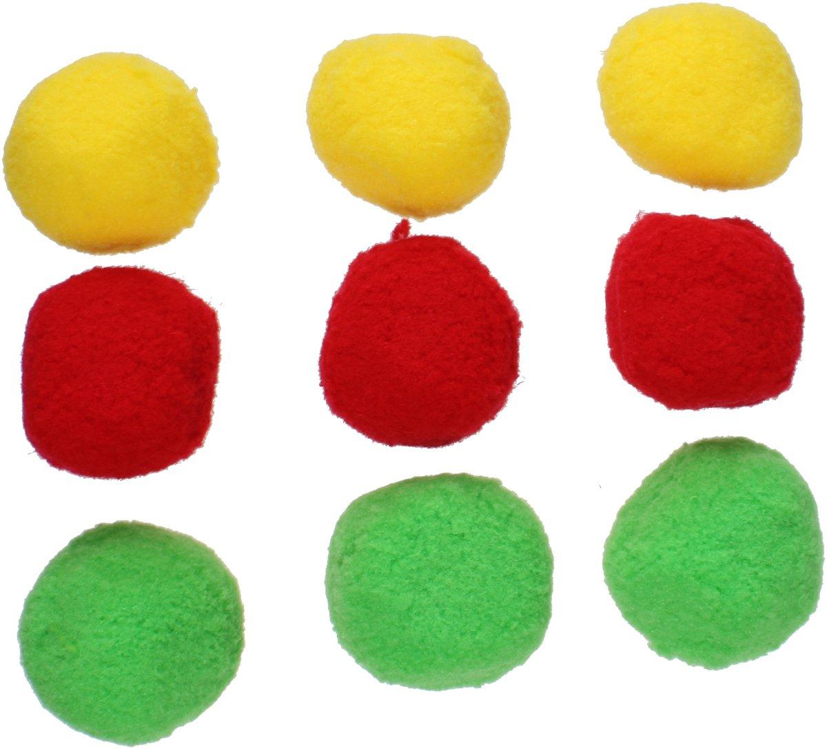 Waterzone Splashballen Blauw/groen/rood 9 Stuks