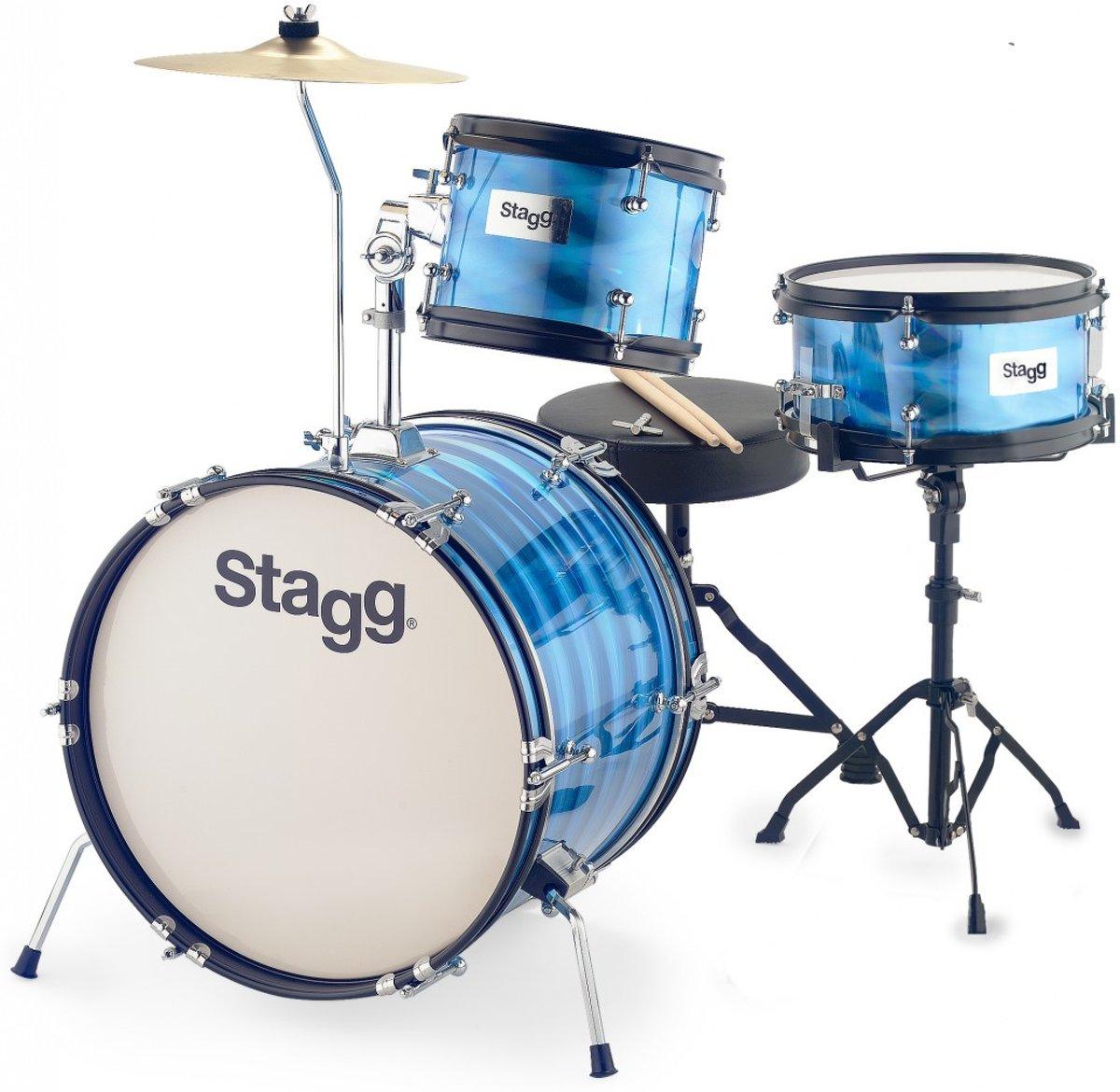 Stagg TIM JR 3/16B BL 3-delig junior drumset 16