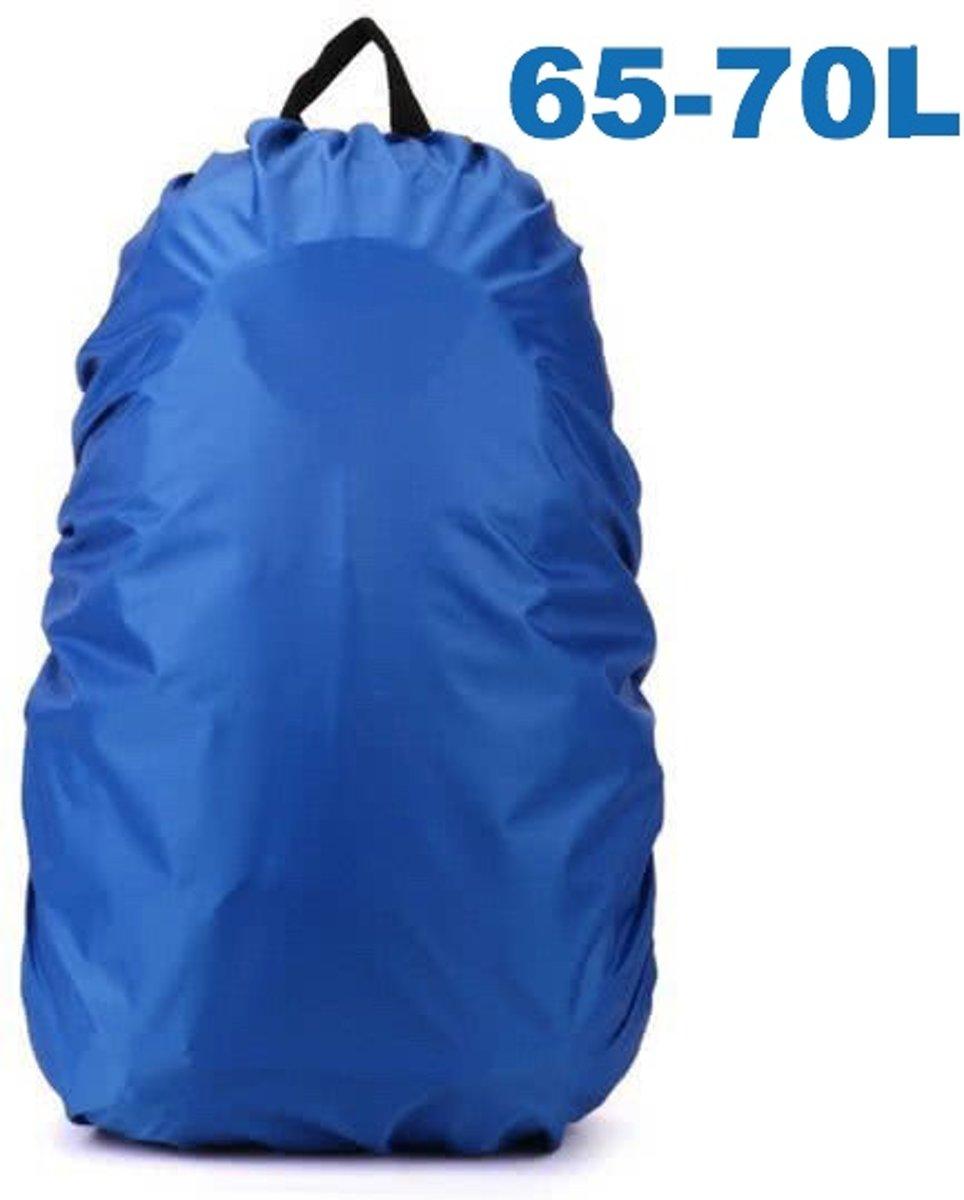ForDig - Flightbag Regenhoes Waterdicht voor Backpack Rugzak - 65-70 Liter Regenhoes – Blauw XL kopen