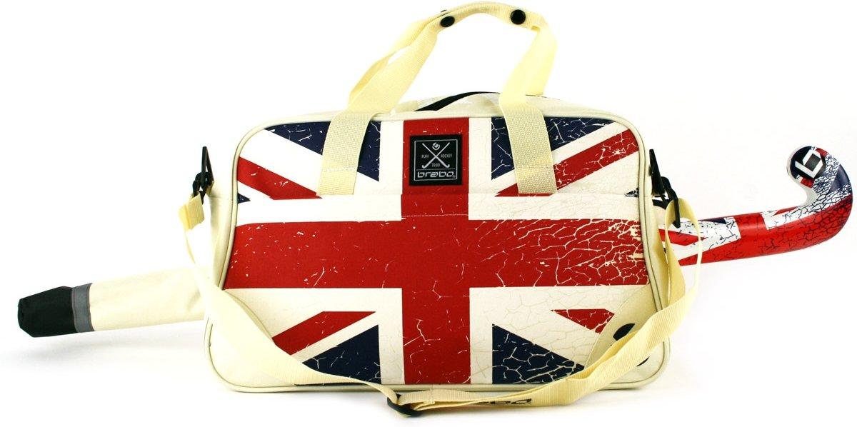 Brabo Flags Deluxe UK - Schoudertas - Volwassenen - Beige/ Rood/ Wit/ Blauw kopen