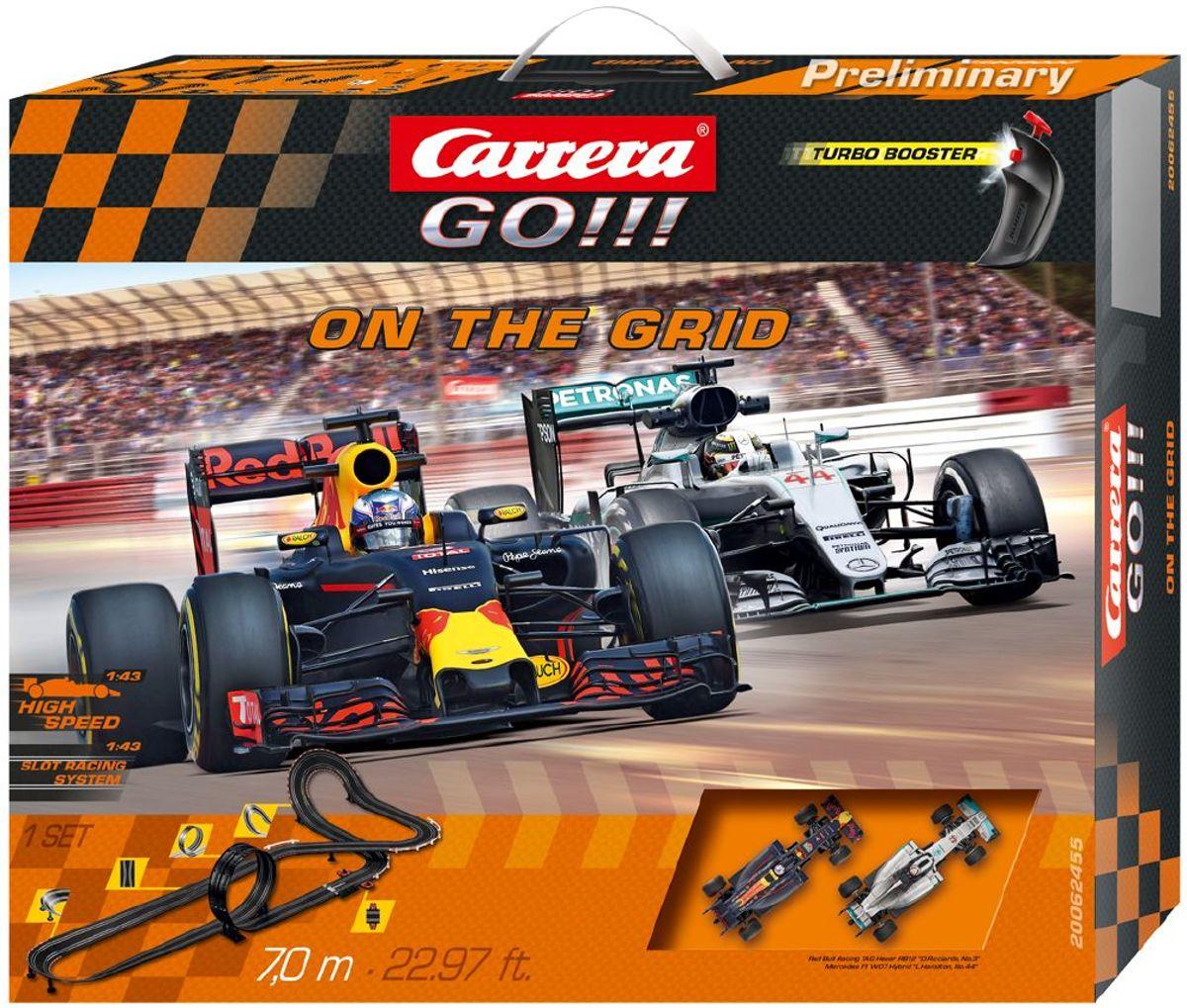 Carrera GO!!! On the grid - Racebaan