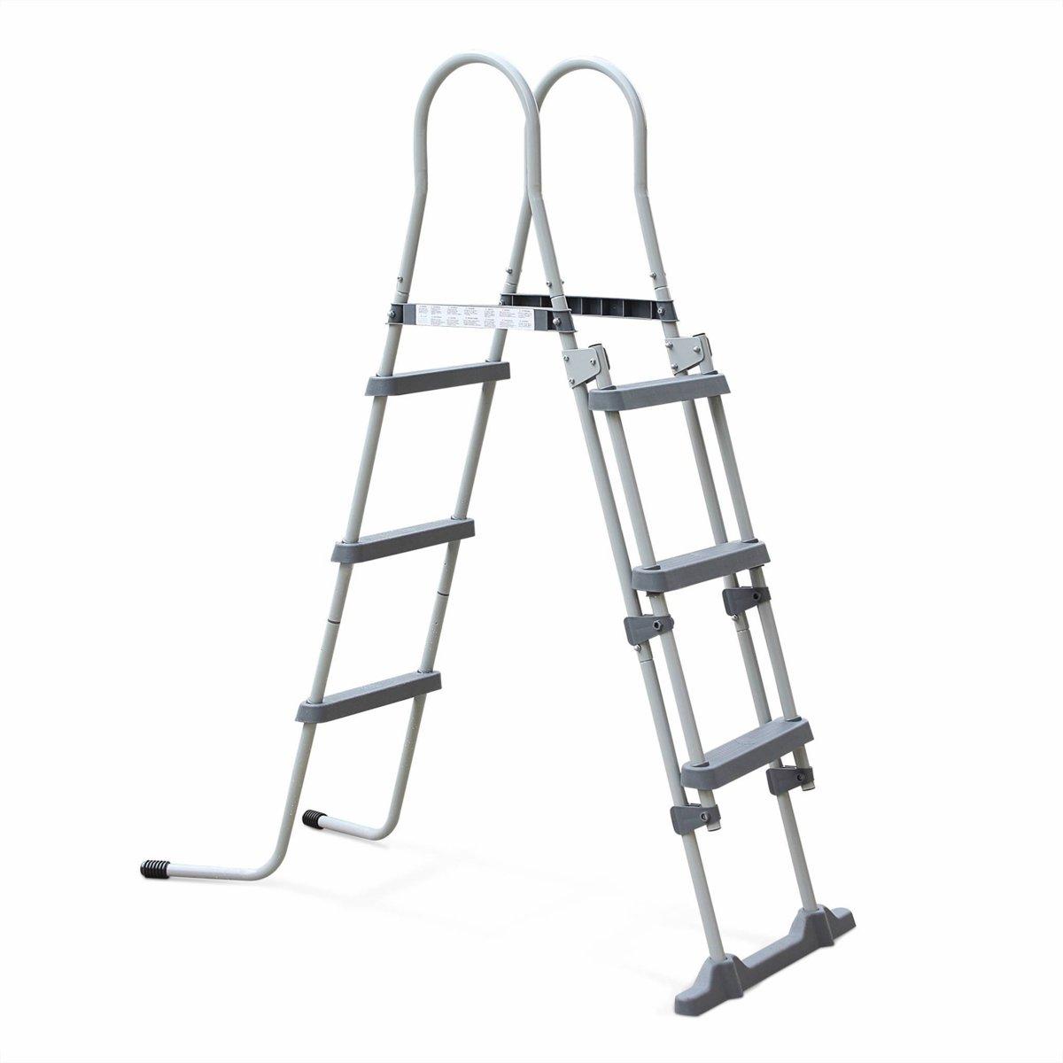 Ladder voor zwembad met een maximale hoogte van 109cm
